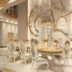 تصميم داخلي لغرفة الطعام