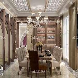 تصميم داخلي لغرفة العائلة