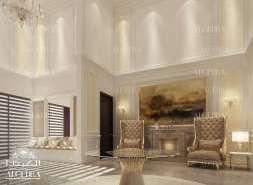 Luxury Hall Entrance Interior
