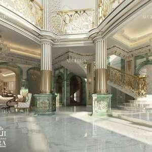 Villa Hall Design