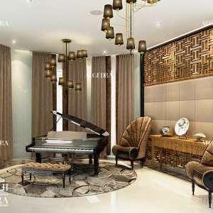 beautiful lobby design by Algedra