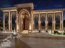 beautiful palace exterior