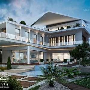 تصاميم معمارية سكنية حديثة