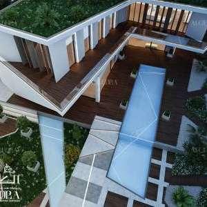 تصميم العمارة الحديثة
