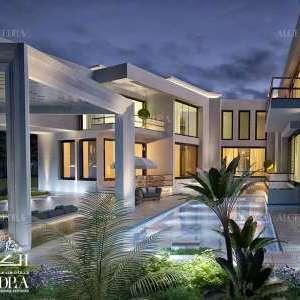 modern residential architecture Dubai