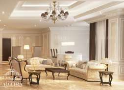 family sitting interior