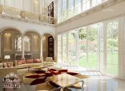 Dining Hall Design for Villa