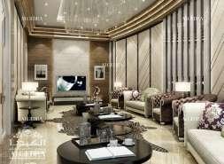 Beautiful Family Room Design by Algedra