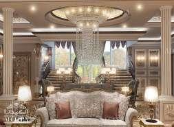 Family Sitting Room Design Dubai