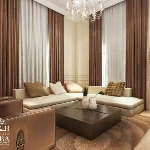 family hall design for villa