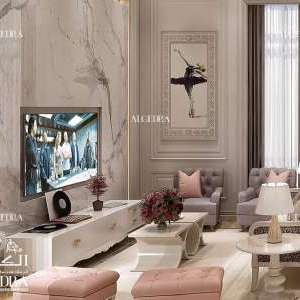 Beautiful Family Room Design by Algedra