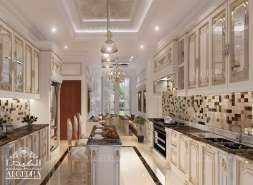 luxury villa kitchen