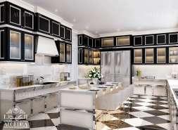 villa kitchen design