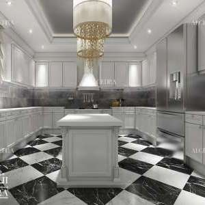villa's kitchen design
