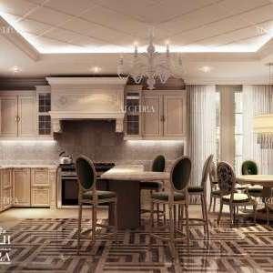 Luxury kitchen design for Villa