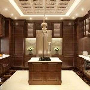 luxury kitchen design Dubai