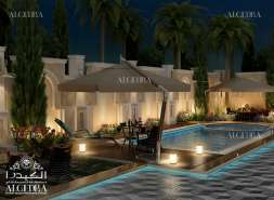 landscape design for Palaces by Algedra