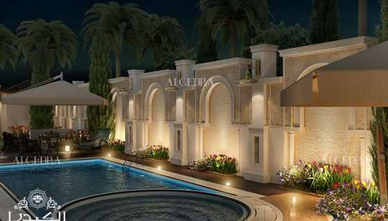 luxury landscape design for Palaces