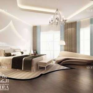 Modern bedroom design Abu Dhabi