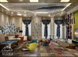 Kids bedroom hall