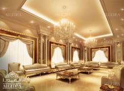 luxury men majlis design by Algedra