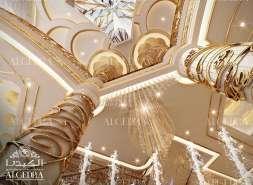 luxury entrance design for Villa