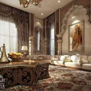 classic majlis decoration