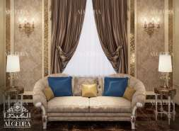 family sitting room design dubai