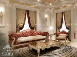 Luxury Family Room Interior