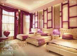 colorful girl bedroom design