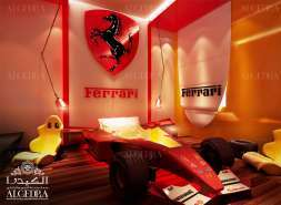 Ferrari kids bedroom