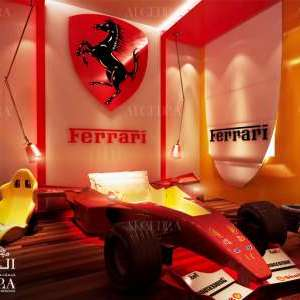 Ferrari kids bedroom