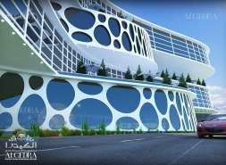 التصميم الخارجي للفنادق