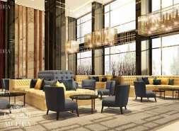 hotel sitting area design