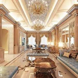 Majlis with Luxury Ceiling