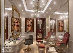 Saloon interior design