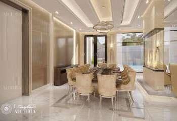 Maskat, Umman'da Modern Villa İç Tasarım Projesi