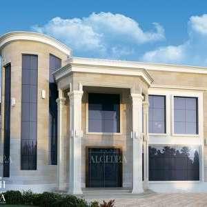 Stylish Glass Decor Villa