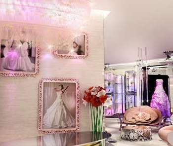 bridal shop interior design
