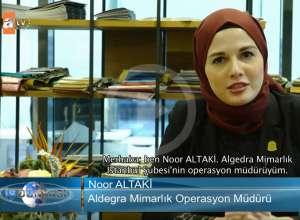 ALGEDRA ARCHITECT Interview on ATV channel