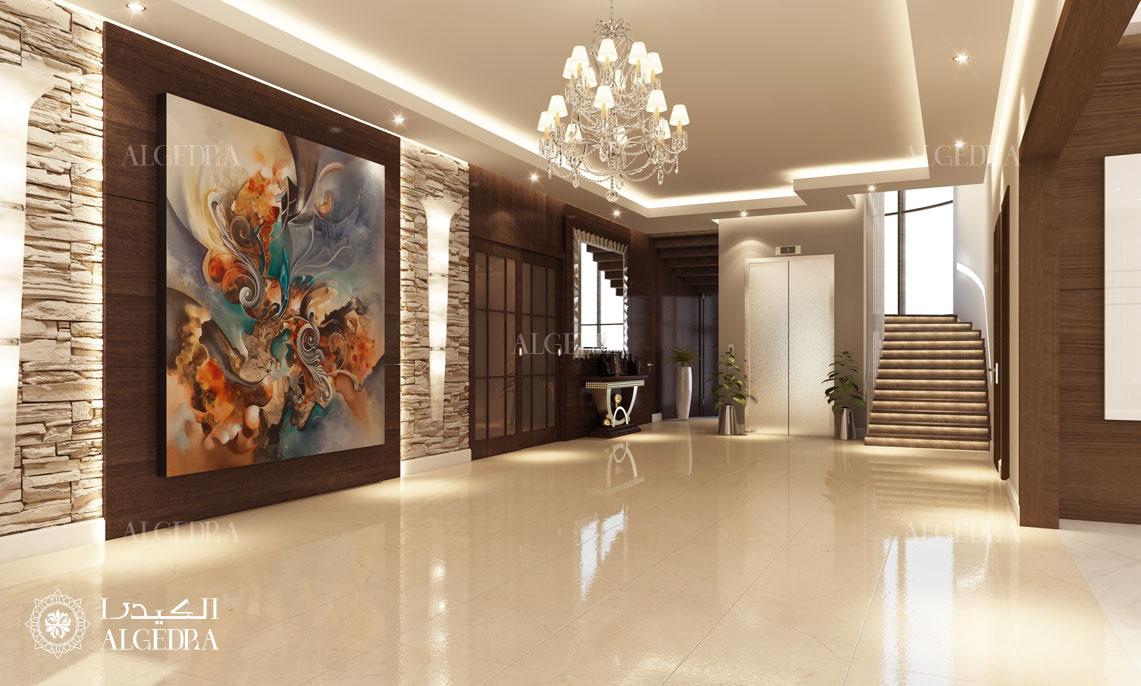 lüks villa hol tasarımı