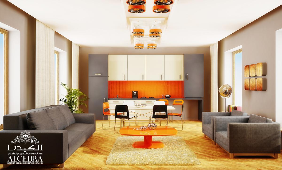light romantic interior decoration