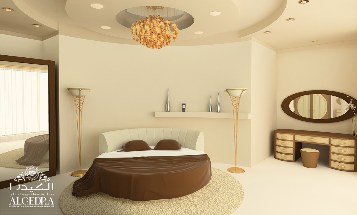 classic bedroom interior in Dubai