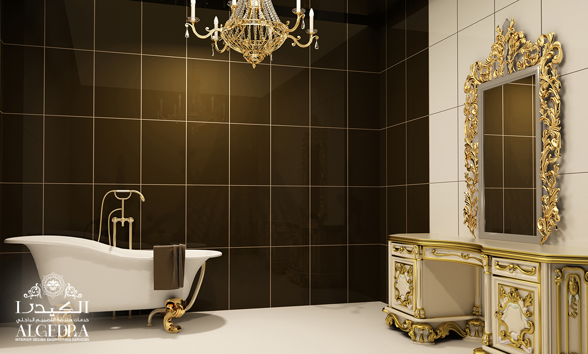 beautiful bathroom interior