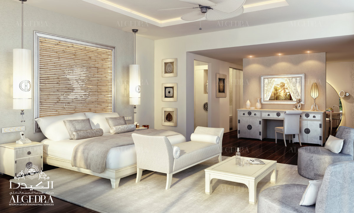 luxurious bedroom interior by Algedra