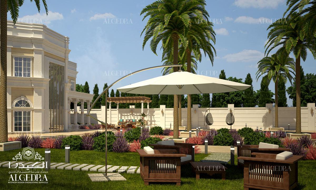 Villas landscape designs in dubai