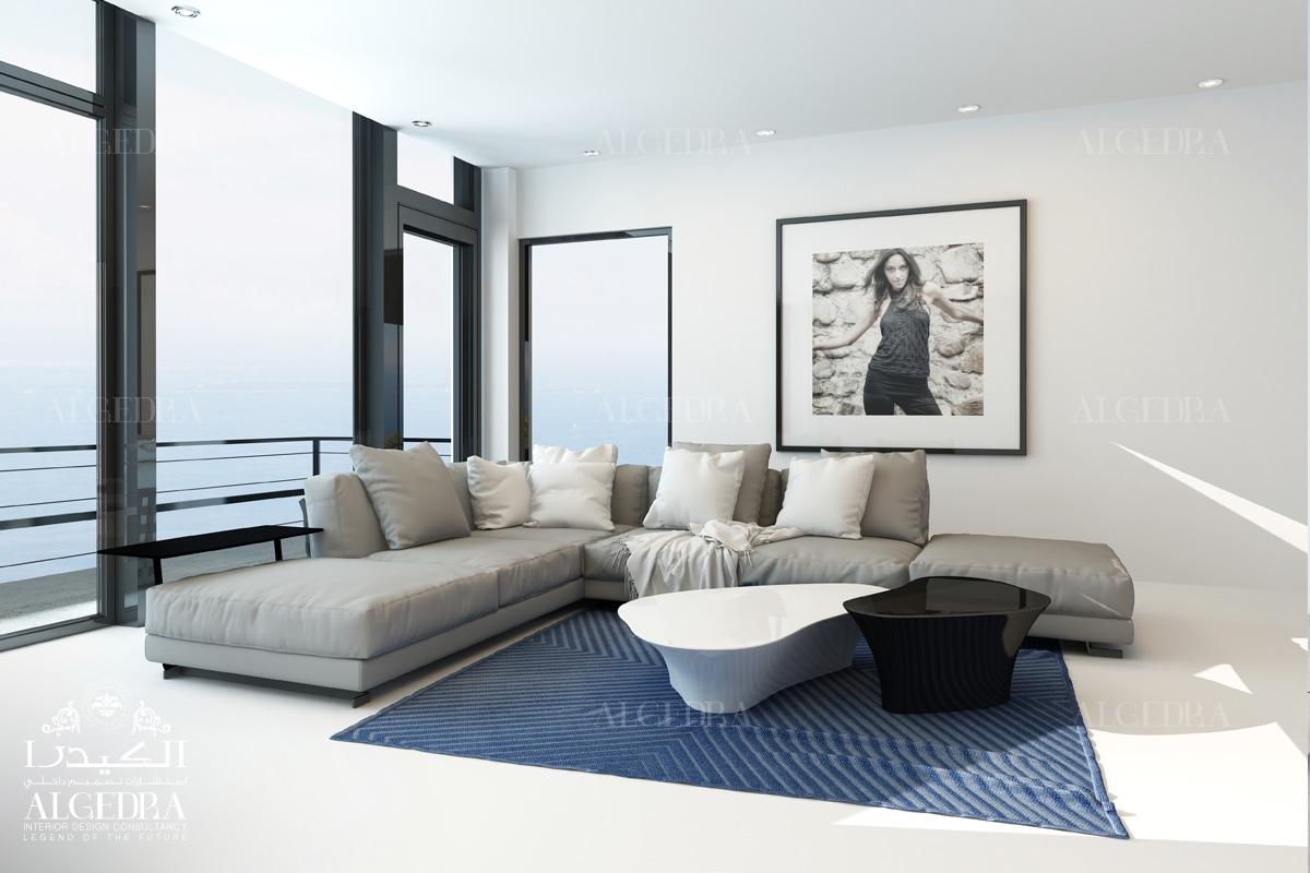 Black & White Sofa