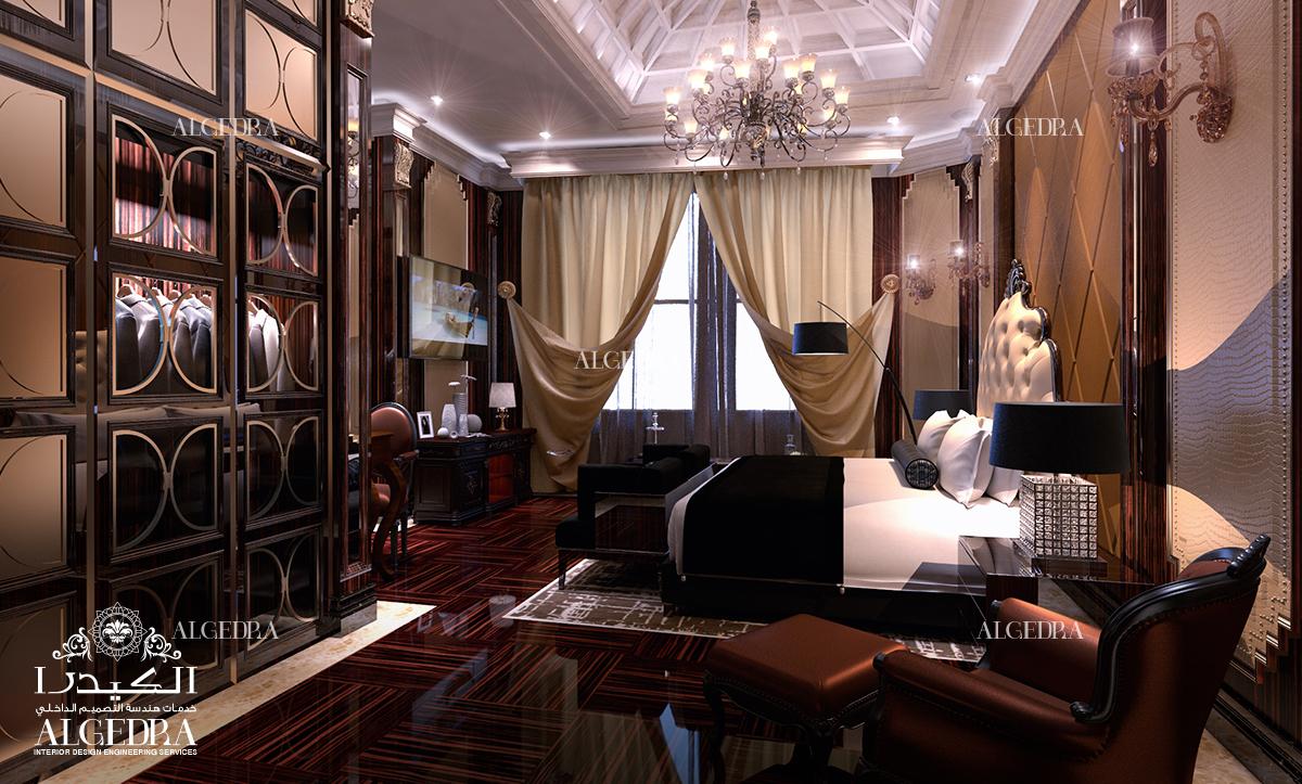 Gothic interior design with dark shades