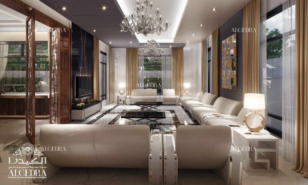 majlis decoration interior by Algedra
