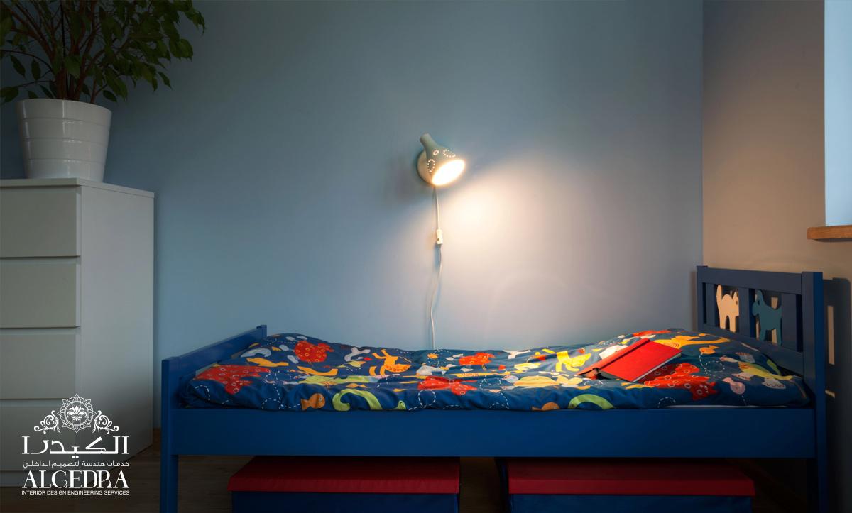 نمط خاص للإضاءة لغرف الاطفال